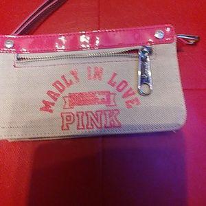 Victoria secret little pink bag..